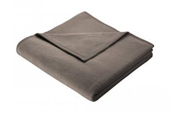 Biederlack-150-x-200-cm-Baumwolle-Home-Deckeberwurf-GraubraunBraun-0