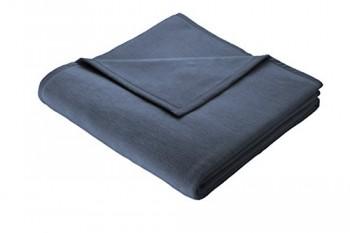 Biederlack-150-x-200-cm-Baumwolle-Home-Deckeberwurf-Jeans-0