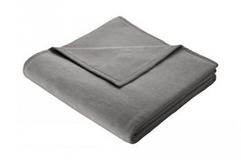Biederlack-150-x-200-cm-Baumwolle-Home-Deckeberwurf-grau-0
