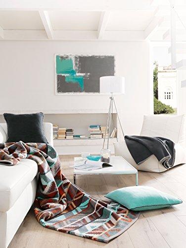 bocasa 150 x 200 cm biederlack ethno exquisite decke berwurf aus baumwolle mehrfarbig. Black Bedroom Furniture Sets. Home Design Ideas