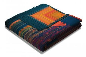 Biederlack-647641-Wohn-und-Kuscheldecke-60--Baumwolle-mit-Fransen-150-x-200-cm-mehrfarbig-Visiona-Baumwolle-Plus-Marrakesch-0