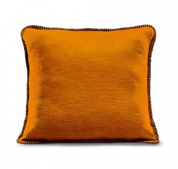 Biederlack-652737-Kissenhlle-60--Baumwolle-Zierstich-Einfassung-50-x-50-cm-Orange-Aura-Curry-0