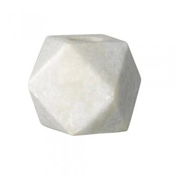 Bloomingville-Kerzenhalter-aus-weiem-Marmor-5x5xH5cm-0