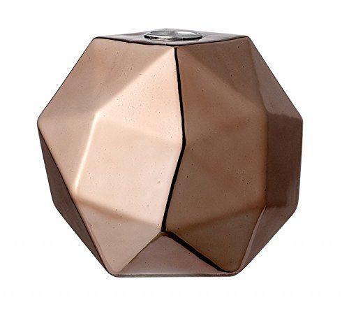 Bloomingville-Kerzenhalter-in-grafischer-Form-roskupfer-113x11x112cm-0