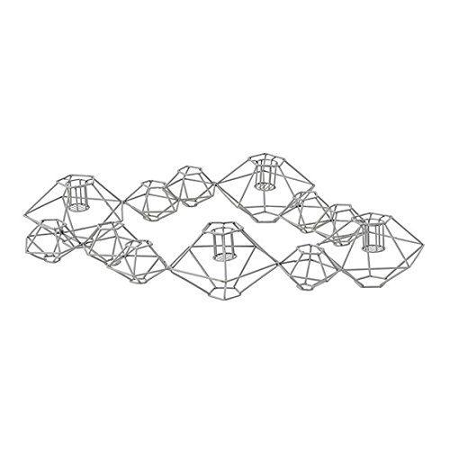 Bloomingville-Kerzenleuchter-Pernille-Grau-46x37x7cm-0