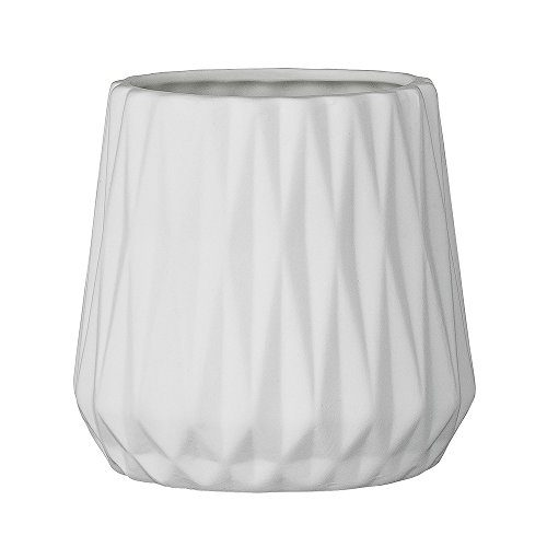 Bloomingville-Teelichtbecher-Porzellan-Fluted-wei-10x95cm-0
