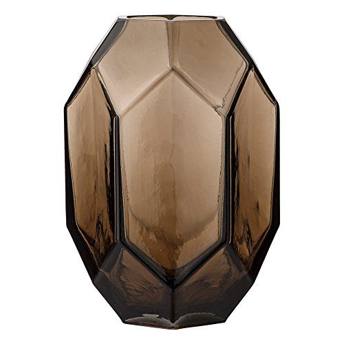 Bloomingville-Vase-Blumenvase-Glas-braun-0