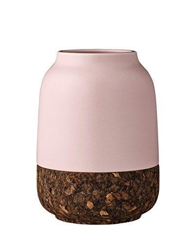 Bloomingville-Vase-Korkboden-Ceramic-nude-0