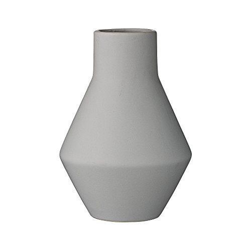 Bloomingville-Vase-grau-13xH18cm-0