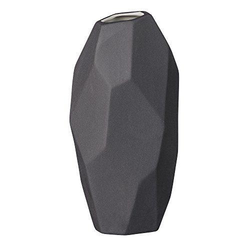 Bloomingville-Vase-in-grafischer-Form-schwarz-95xH19cm-0