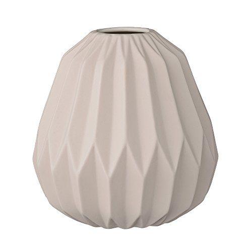 Bloomingville-Vase-matt-nude-mit-grafischem-Muster-145xH155cm-0