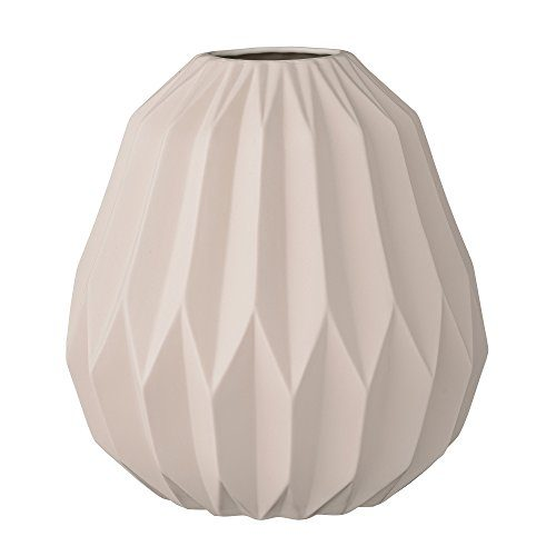 Bloomingville-Vase-matt-nude-mit-grafischem-Muster-245xH24cm-0