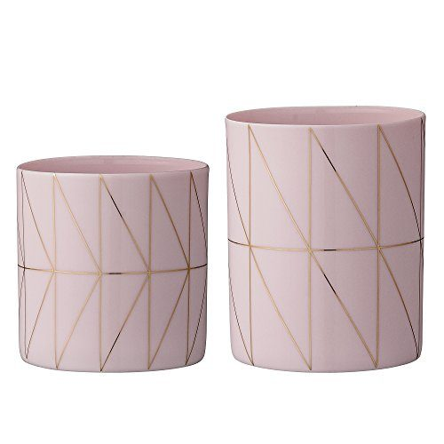 Bloomingville-Windlicht-Set-nude-gold-als-Teelichthalter-0