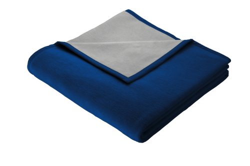 bocasa biederlack 150 x 200 cm exquisite cotton blanket throw sapphire online kaufen bei woonio. Black Bedroom Furniture Sets. Home Design Ideas