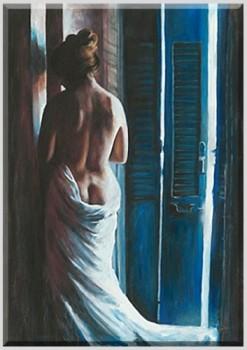 Brisia-Bild-von-Escha-van-den-Bogerd-Digitaldruck-auf-Leinwand-gedruckt-kein-auf-Leinwand-kaschierter-Kunstdruck-mit-Keilrahmen-Frauenakt-Kunstartikel-Leinwandfertigbild-in-bester-Druckqualitt-Giclee--0