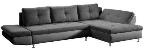 Cavadore-457-Polsterecke-Coutre-2er-Bett-Longchair-mit-einseitiger-Armteilfunktion-325-x-89-x-186-cm-Toscana-graphite-Bison-fango-0