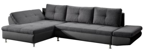 Cavadore-457-Polsterecke-Coutre-Longchair-2er-Bett-mit-Armteilfunktion-325-x-89-x-186-cm-Toscana-graphite-Bison-schwarz-0