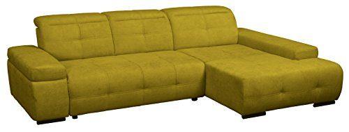 Cavadore-5036-Polsterecke-Mistrel-3-er-Bett-Longchair-XL-273-x-77-93-x-173-cm-Kati-curry-0