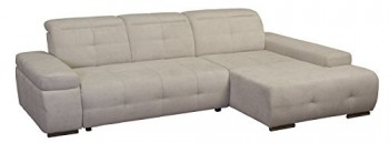 Cavadore-5036-Polsterecke-Mistrel-3-er-Bett-Longchair-XL-273-x-77-93-x-173-cm-Kati-grau-wei-0