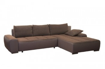 Cavadore-952-Polsterecke-Avengos-2-er-Bett-Longchair-304-x-84-x-200-cm-Orlando-mocca-bison-elefant-0