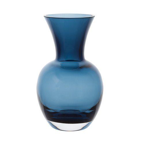Dartington-Crystal-Little-Gems-Vase-Blau-0