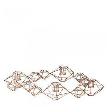 Edler-Kupferkranz-Kerzenhalter-fr-4-Kerzen-0