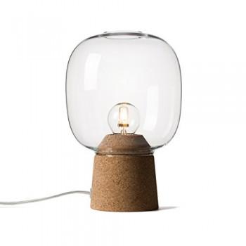 Enrico-Zanolla-Picia-Glas-und-Kork-Tischlampe-klar-LTPC23CC-0