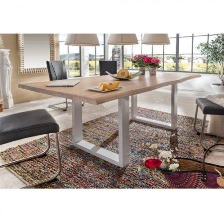 esstisch albero eiche massiv wei blanko ge lt 220 x. Black Bedroom Furniture Sets. Home Design Ideas
