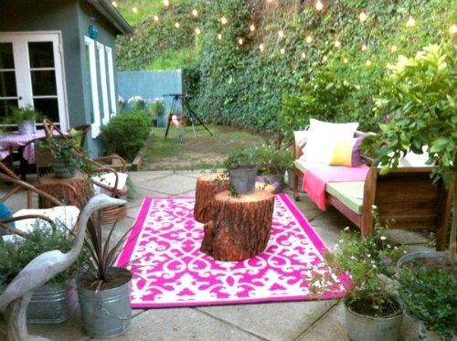 fab habitat venice indoor outdoor recycled plastic rug. Black Bedroom Furniture Sets. Home Design Ideas