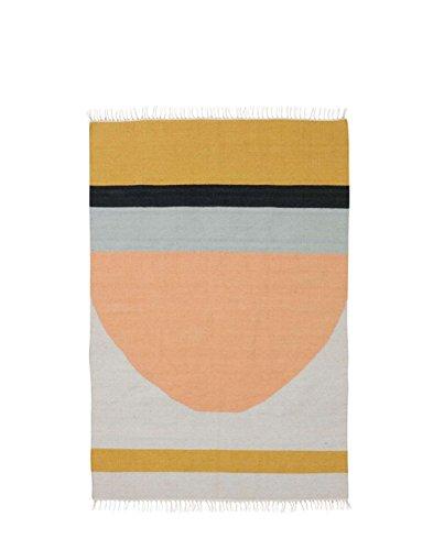 Ferm Living Teppich Kelim 200cm x 140cm, Semicircle online