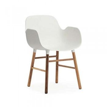 Form-Armchair-WhiteWalnut-0