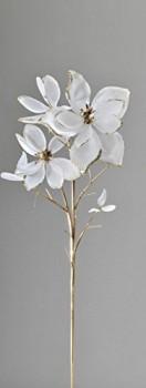Formano-Magnolie-Magnolienzweig-matt-creme-gold-593917-Magnolien-Zweig-matt-0