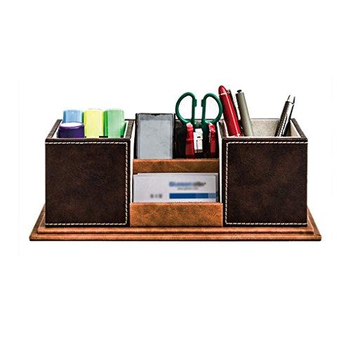 georgie neu stiftebox stiftehalter aufbewahrungsbox schreibentaschen leder braun online kaufen. Black Bedroom Furniture Sets. Home Design Ideas