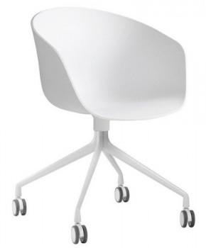 HAY-About-a-Chair-24-Armlehn-Drehstuhl-mit-Rollen-wei-Gestell-aluminium-pulverbeschichtet-wei-mit-Soft-Rollen-fr-alle-Bden-0