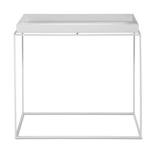 hay beistelltisch tray table weiss l 60cm b 40cm h 50cm online kaufen bei woonio. Black Bedroom Furniture Sets. Home Design Ideas