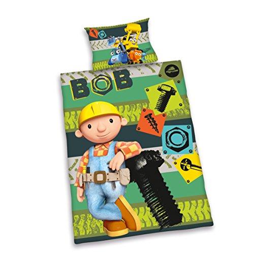 herding 2662027063412 bettw sche bob der baumeister. Black Bedroom Furniture Sets. Home Design Ideas