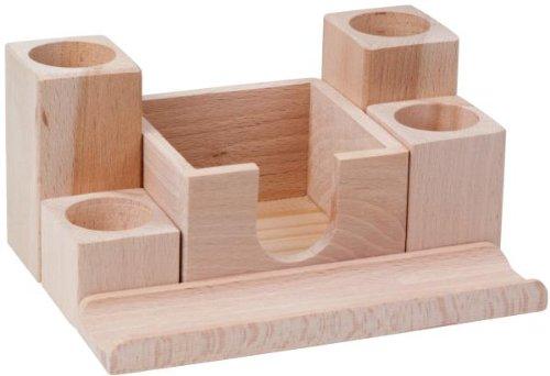hofmeister desk attachment with several holders memo box. Black Bedroom Furniture Sets. Home Design Ideas
