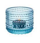 Iittala-Kastehelmi-klar-hellblau-Leuchter-2-Stk-0-1