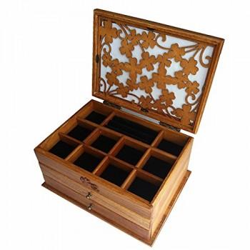 J-Roland-Zwei-Schicht-Carvings-Hohl-Hart-Holz-Schmuckkasten-Schmuck-Box-Beauty-Case-Schmuckkoffer-Schmuckkstchen-Schmuckbox-Schmuckschatulle-Holz-Beautycase-Organizer-Aufbewahrungskoffer-Vitrine-Box-m-0