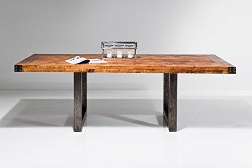 kare esstisch off road 220x100cm industrial vintage online kaufen bei woonio. Black Bedroom Furniture Sets. Home Design Ideas