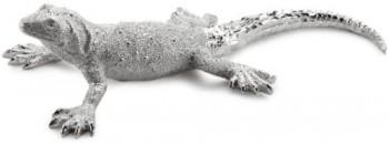 Kare-68312-Deko-Figur-Lizard-55-x-235-x-12-cm-Polyresin-silber-0