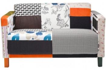 Kare-78321-Sofa-Patchwork-Stripes-2-Sitzer-0