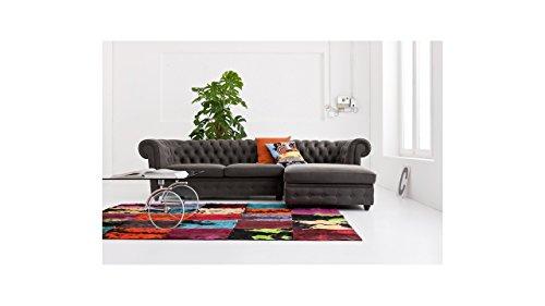kare 78473 ecksofa oxford graphit 3 sitzer und recami online kaufen bei woonio. Black Bedroom Furniture Sets. Home Design Ideas