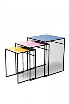 Kare-78770-Beistelltisch-Loft-Square-Colore-3-er-Set-0