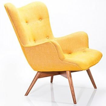 Kare-Design-Sessel-Textil-mit-Armlehnen-Retro-Angels-Wings-Rhythm-Mustard-0
