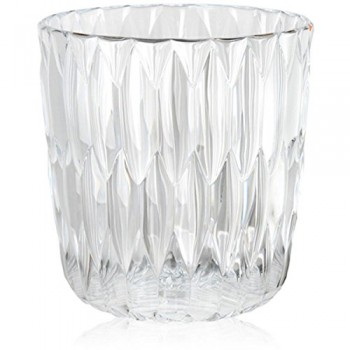 Kartell-1227B4-Vase-Jelly-25-x-235-cm-glasklar-0