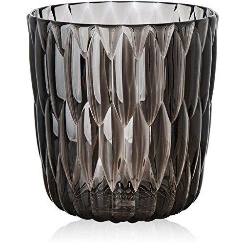 Kartell-1227V9-Vase-Jelly-25-x-235-cm-rauchgrau-0