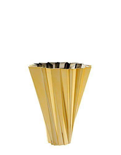 Kartell-1239GG-Vase-Shanghai-gold-0