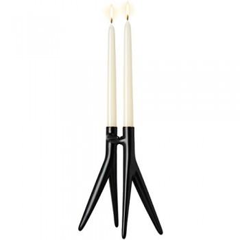Kartell-195509-Kerzenhalter-Abbracciaio-schwarz-0