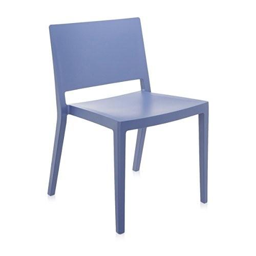 Kartell-486952-Stuhl-Lizz-Mat-blau-0